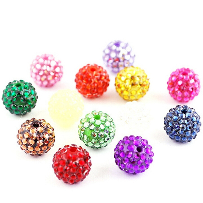 Cheap Bulk Wholesale Shamballa Beads