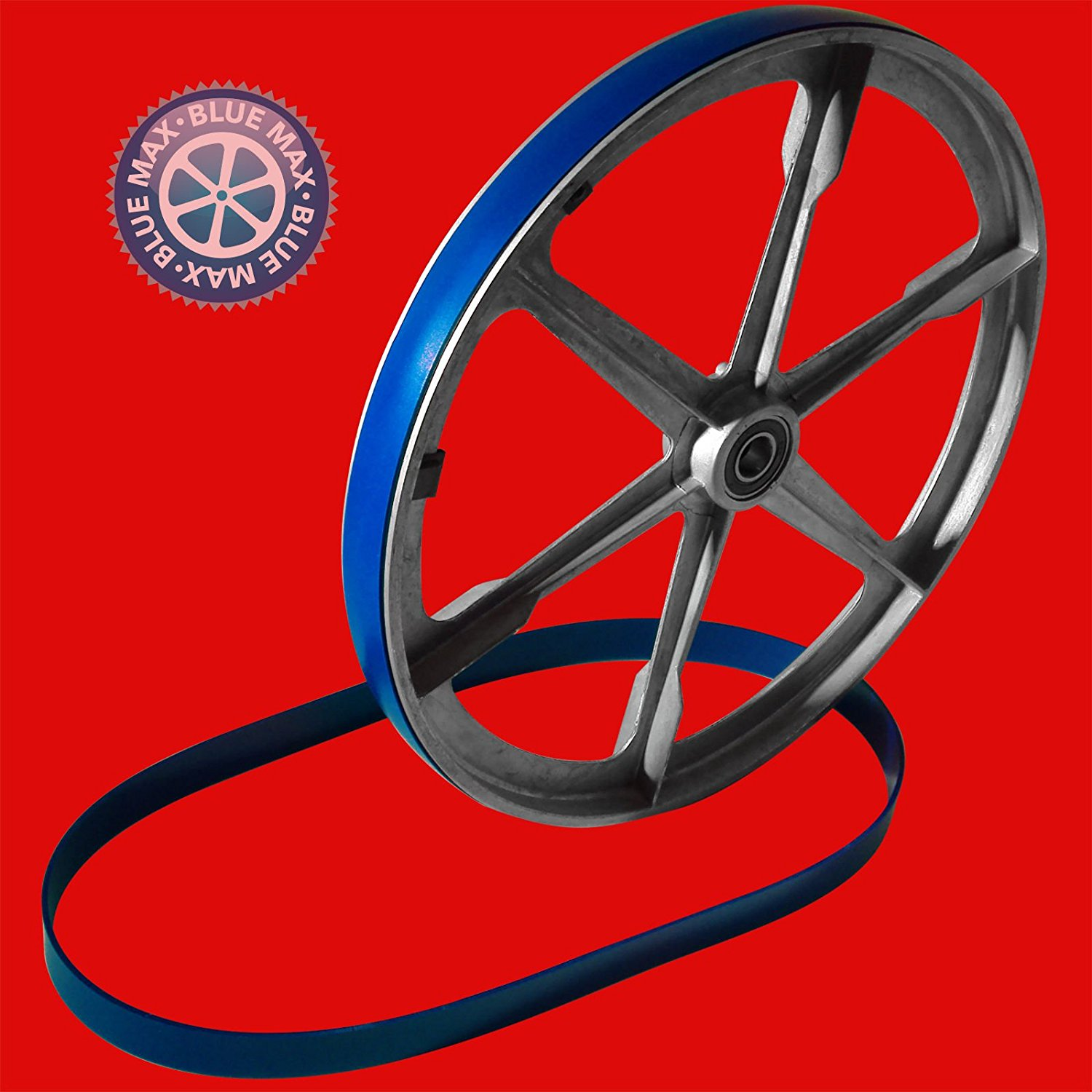 "2 BLUE MAX ULTRA DUTY URETHANE BAND SAW TIRES SET FOR 14"" TAUCO BAND SAW"