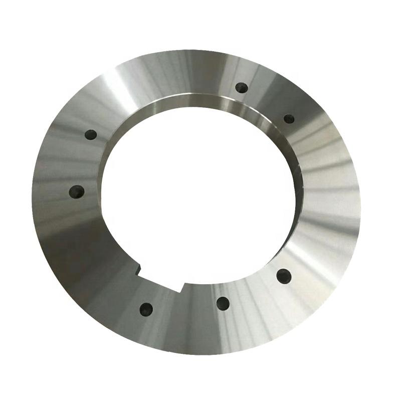 Circular slitting machine knives