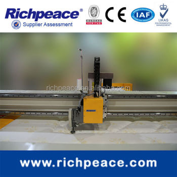 Richpeace Computerized High Speed (Adjustable Height ) Single Head Quilting Machine
