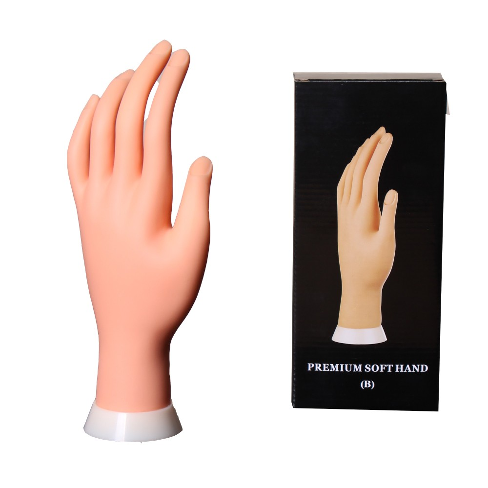 Practice Fake Hand Nail Art Trainer Practice Artificial Hand - Buy ...