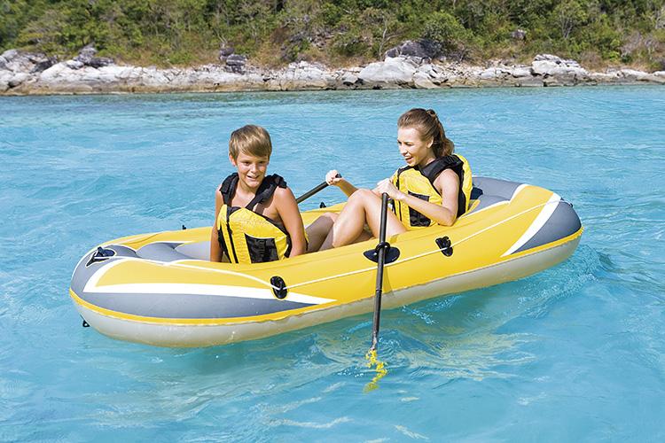Barco inflável material do ar do barco do PVC do esporte de água exterior de alta qualidade