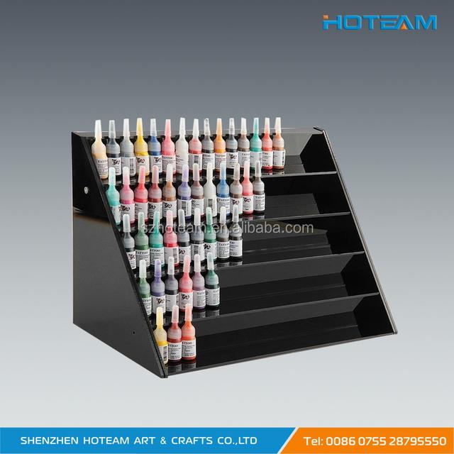 Black Acrylic Nail Polish Display Shelf Wholesale, Shelf Suppliers ...