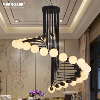 Modernas Lámparas De Iluminación Creativa Metal Lustres Colgando Suspendu  Lámpara Para Comedor Casa Habitación Decoración Luz Md83097 - Buy ...