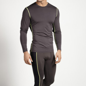 Mens Activewear Tight Function Long Sleeve Compression Shirt - Buy ... 920c0b8f8