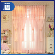 Popular decorating custom made backed sheer lace theatre curtains