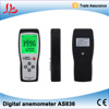 Digital anemometer for measuring instruments, heating, ventilation, air conditioning, environmental protection
