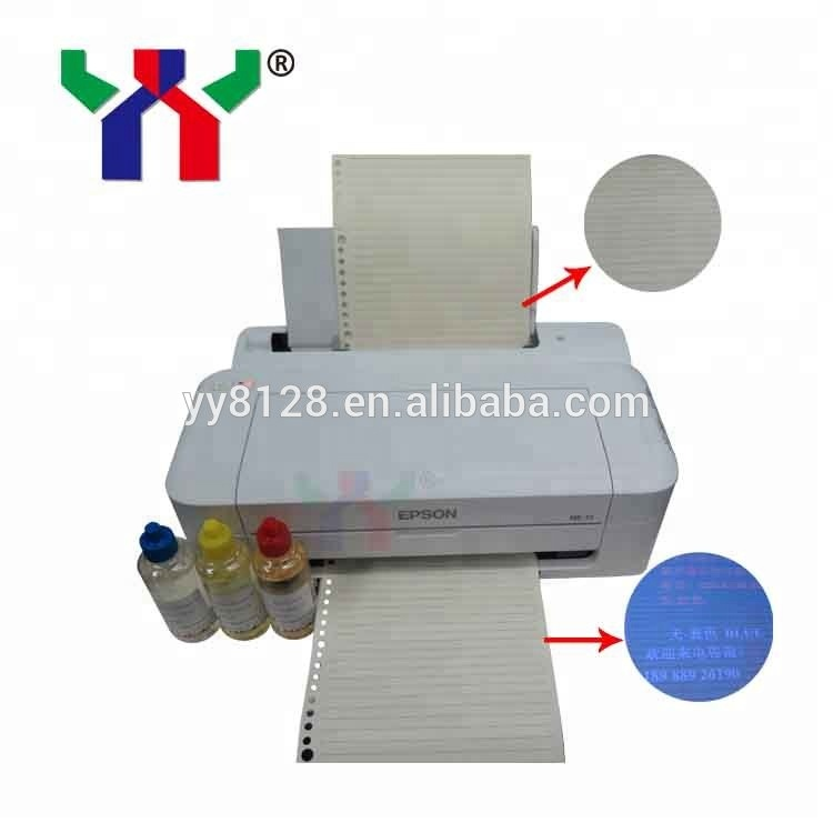 High Quality Water Based UV Invisible Ink for Inject Printer