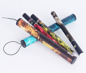 Disposable vape pen bulk e hookah 500 puffs shisha pen various fruit flavors colorful electronic cigarette