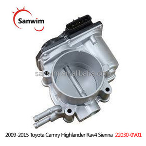 Throttle Body For 2009-2015 Toy-ota Camry High-lander R-av4 Sien-na 22030-0V01