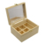 Simple Natural Unfinished Wood Decorative Large Gift Box