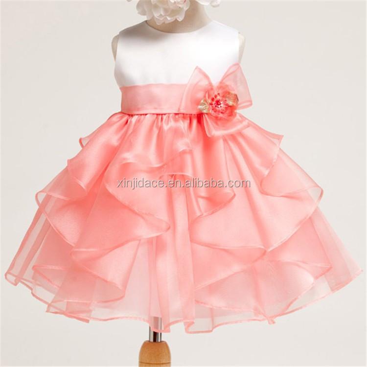 Children Girl Party Dress Fancy Baby Birthday Dress 1 Year Old Girl ...