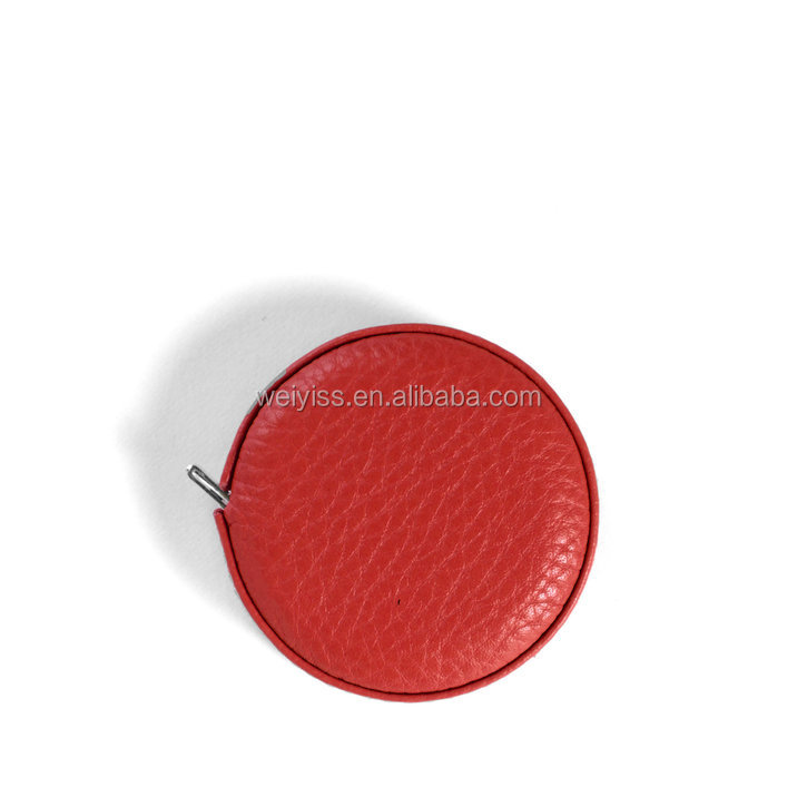 logo embossed leather tape measure 1.5M long