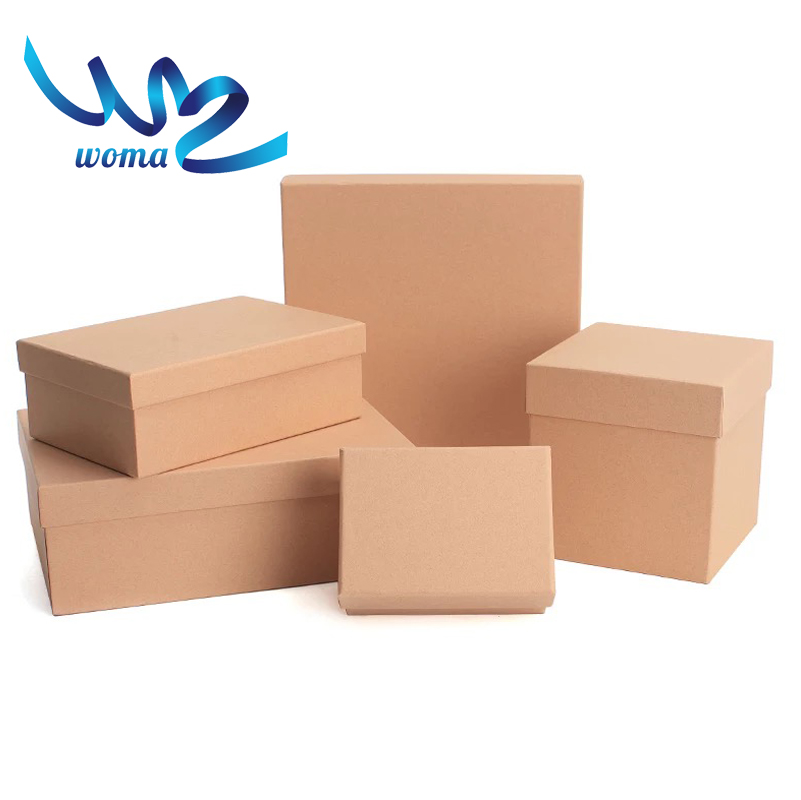 Custom Made Folding Kraft Paper Printing Boxes, Paper Gift Box Packaging