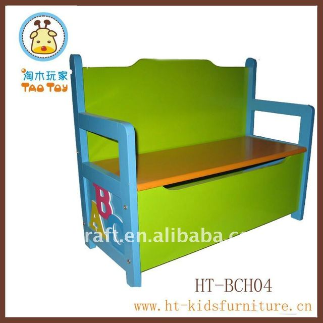 MDF Childrens Storage Bench