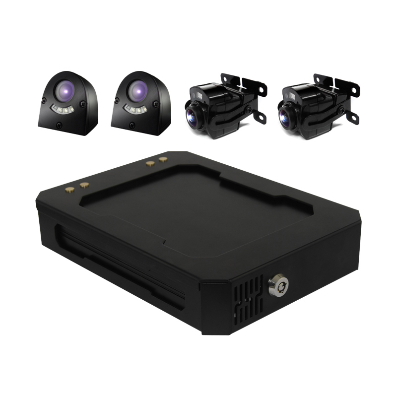 4ch 3g/4g/wifi/gps online monitoring vehicle dvr camera system for truck/bus/car