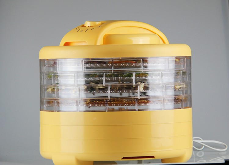 450W Digital Controlled household food dehydrator equipment with 5 trays & with beef jerky gun