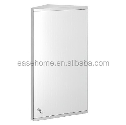 Bathroom Mirrors And Washbasin Suction Mirror Model M1096 Size 400x600x130mm Stainless Steel Frame
