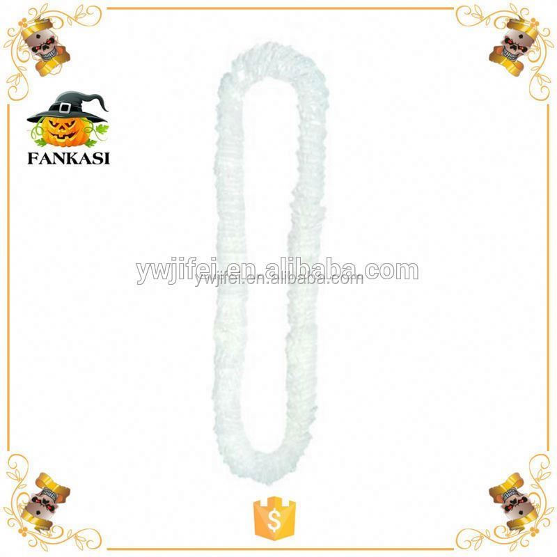 Party Decorative Hawaii Plastic Flower Lei