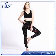 Neue milch seide sublimationsdruck mode gepolsterte <span class=keywords><strong>leggings</strong></span>