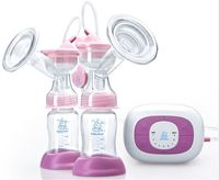 2017 Best selling double electric breast pump rechargeable breast pump for sale best price high quality