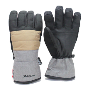 Mens thinsulate breathable outdoor snowboard gloves ski gloves