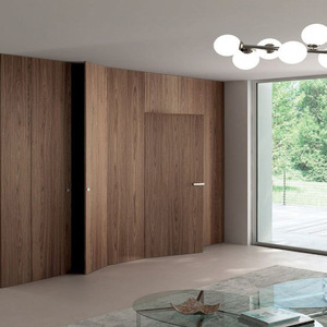 Kent style interior flush door designs catalogue invisible door for villa
