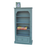 /product-detail/antique-rustic-units-small-narrow-3-shelves-bookcase-with-drawers-60520639890.html