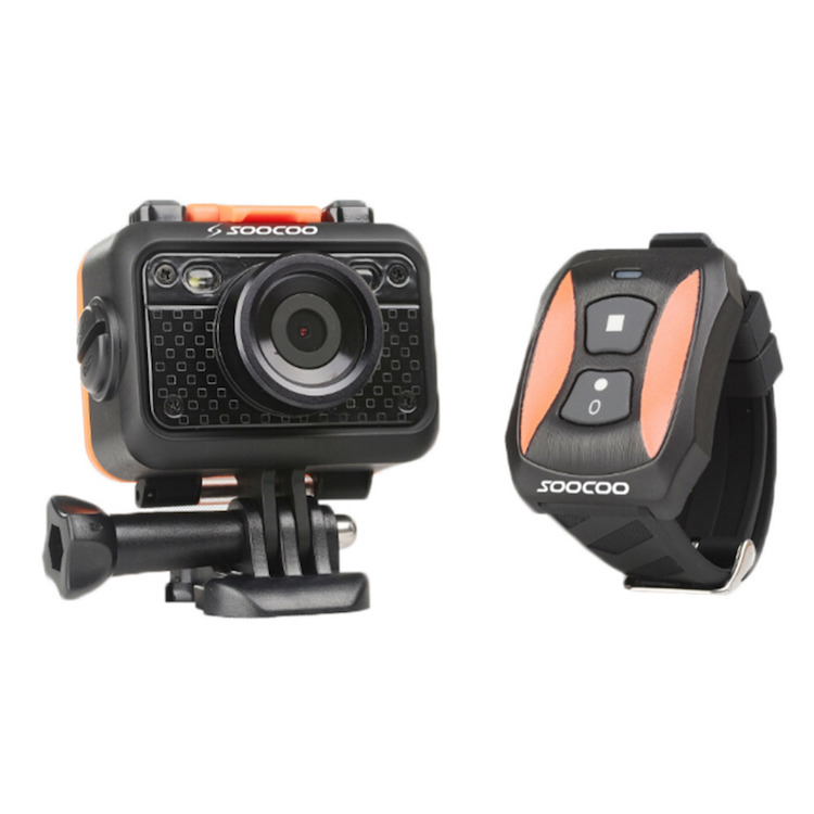 SOOCOO S60 1.5 LCD 4X Zoom 1080 HD Wide-angle Sports Action Waterproof Anti- Shake Wifi Video Camera for Skiing and Water Sport