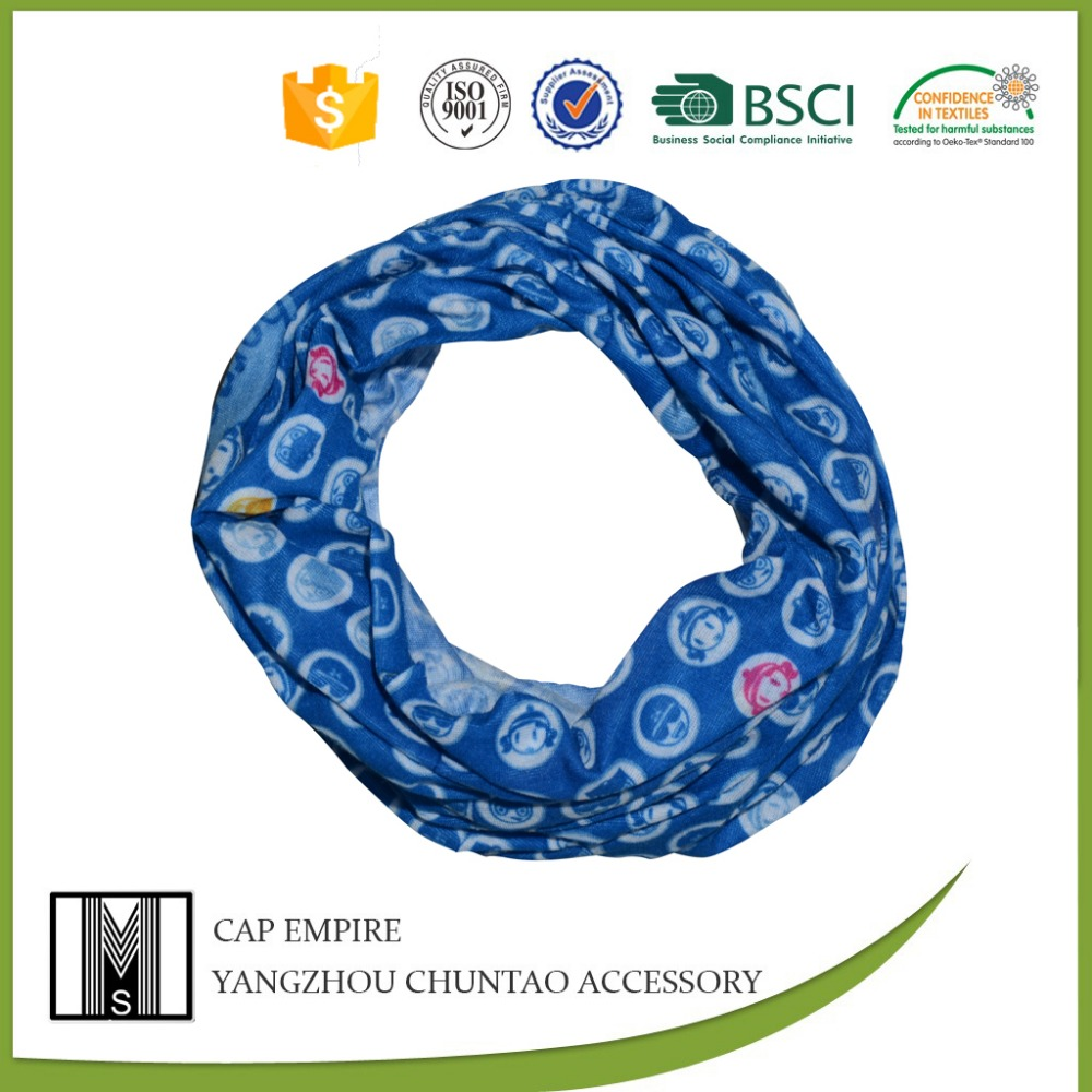 BSCI audit wholesale custom digital print tubular bandana