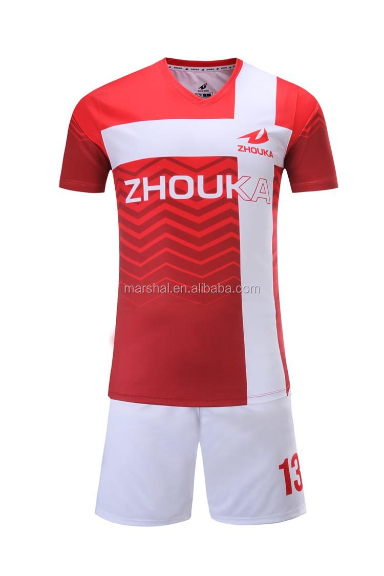 c098994a42ddf OEM camisa de futebol de futebol barato jerseys costume fazer sublimação de  uniformes de futebol