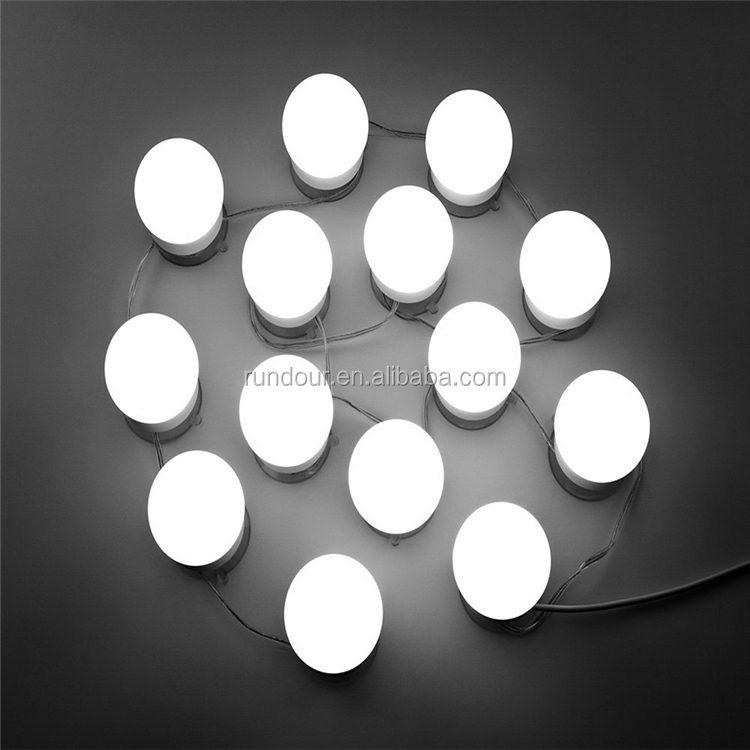 News WanEway Hollywood Style Makeup Vanity Mirror With Light Dimmable  Lighted Tabletop Mirror With 12 LED