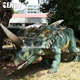 Outdoor High Simulation Artificial Animatronic Dinosaur Carnival