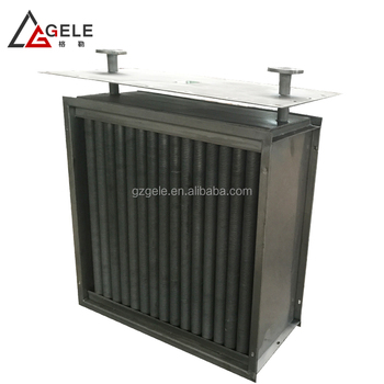 CE customized wholesale fin tube radiator heat exchanger for leather tanning machine