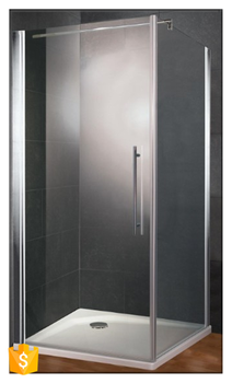 BATHROOM NEW PRODUCTS Pivot Hinge Glass Shower Doors With Top Bracket For  Simple Mordern House Design