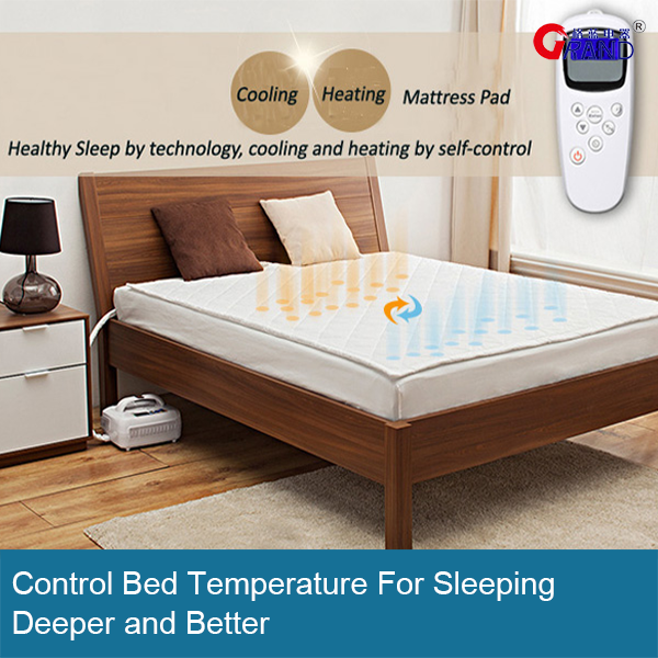 Water Circulation Heat And Cool Mattress Air Conditioner Pads Warm Heated Product On