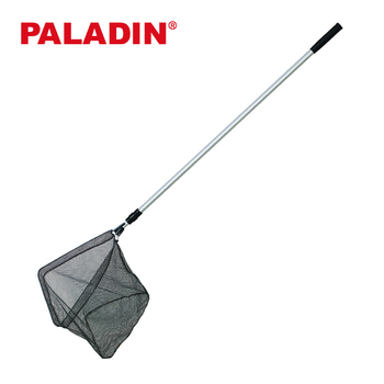 Paladin 210 / 250 / 300 /350 cm Soft Mesh Economy Triangular Fishing Landing Nets with Aluminum Long Handle