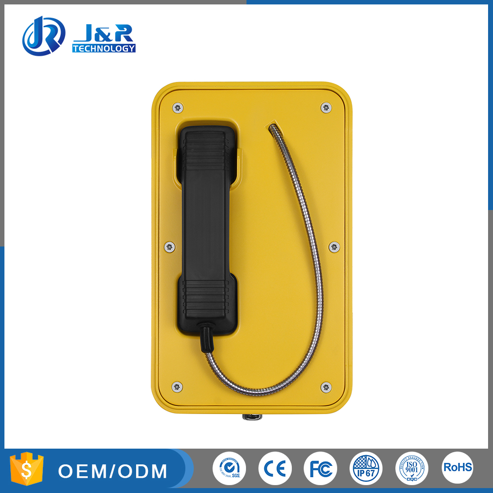 Emergency Tunnel Telephone, Hotline Used Track Side Emergency Telephone, Underground Tunnel Project Phone JR103-CB