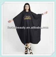 Wholesale Colorful Cutting Hair Dying Cape,beauty salon uniforms china,waterproof apron