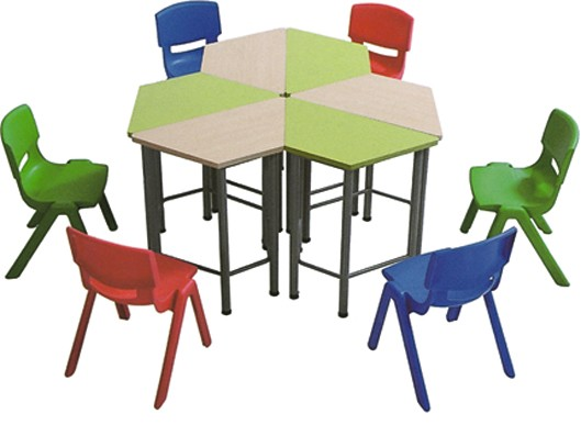 Colorful Nursery School Furniture Cheap Child Study Table and Chair Set Used Kindergarten Furniture Chair