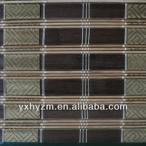 ribbon bamboo blind window curtain roller blind/blinds and curtains/yixing bamboo
