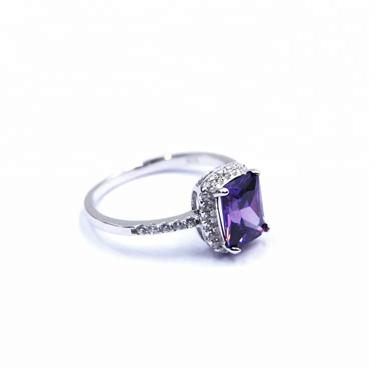 Wholesale Price Fancy Jewelry Purple Stone Sterling Silver 925 Cz Rings -  Buy Silver 925 Rings,Silver Rings,Silver Cz Ring Product on Alibaba com