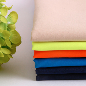 50D*75D polyester microfiber fabric polyester peach skin microfiber fabric for beach short bedding sheets pillow fabric