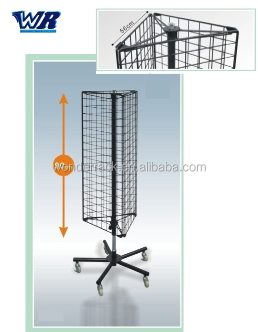 Wire Triangle Grid Wall Display Rack - Buy Wire Rack,Grid Wall ...