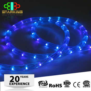 12mm Color Changing Led Solar Rope Light With Ce Rohs Emc