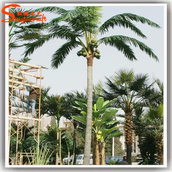 groothandel grote outdoor plastic kunstmatige palmboom met licht op verkoop kunstmatige bomen. Black Bedroom Furniture Sets. Home Design Ideas