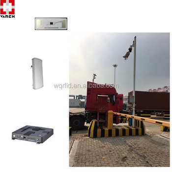 long range uhf rfid fixed reader for port truck tracking