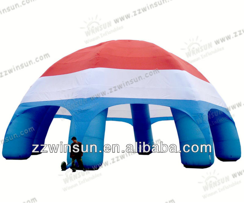 Most newly small air dome inflatable construction air dome