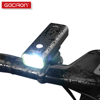 Gaciron Professional Mountain Bike Light CREE XPL LED 800 Lumen USB Rechargeable Bicycle Front Light