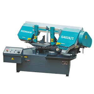 Automatic feeding hydraulic band saw machine for steel stainless Band saw cutting machine price Metal cutting machine